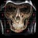 Gothic Skull Bone Keyboard