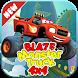 Blaze Monster Truck 4X4 Climb Race