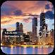 Chicago weather widget/clock by Widget Dev Team