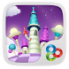 Magic World GO Launcher Theme by ZT.art