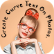 Curve Text Photo Editor :Text on Pic Swipe to Type by Creative photo art