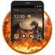 Dragon Fantasy Fire Theme by Best Free Android Themes