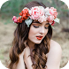 Flower Crown Photo Editor by Background Changer, Eraser & Booth Photo Editor