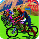 Superhero Bmx Stunt Racing by Let's Game