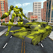 US Army Tank Transform Robot by Magnet Mind Studios