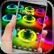 Hologram Neon Earth Theme by New DIY Theme