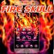 Fire Skull Theme Scary Horror by iThemeMaster