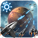 3D Space Fighting Clock Widget by Weather Widget Theme Dev Team