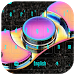 Fidget Spinner Neon Keyboard by New Theme World