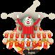 Circus clown keyboard by Bestheme theme&keyboard studio 2018