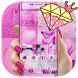 Pink Photo Grid Freestyle Collage Theme by Fabulous Theme Wallpapers