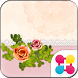 Girly Wallpaper Antique Rose by +HOME by Ateam