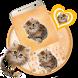 Cute Fluffy Cat Keyboard Theme by Keyboard Theme Factory