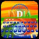 India Independence Day Flag Keyboard by Bestheme Keyboard Designer 3D &HD