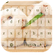 Cute Bunny Rabbit Keyboard by live wallpaper collection