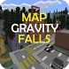 Map Gravity Falls for MCPE