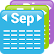 My Month Calendar Widget by Baviux