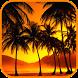 Golden Sky Ocean Palm LWP by Gniferpl