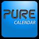Pure Calendar widget (agenda) by Francois DESLANDES
