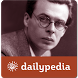 Aldous Huxley Daily by Dailypedia Bliss