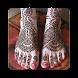 Bridal Mehndi Design - Feet by Mayur Naidu Developers