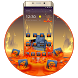 Lava On The Floor Android Theme by Maddy Manjrekar