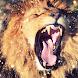 Lion gold glitter live wallpaper