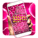 Pink Love Keyboard by Keyboard Tema Designer
