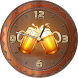 Beer Analog Clock Widget by Cicmilic Soft