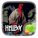GO SMS PRO HELLBOY THEME by We Themes