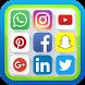 networks social media 2018 by App Maker Inc