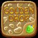 Golden Drops GO Keyboard Theme