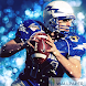 Sports background: American football wallpaper