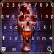 Flaming Skull Keyboard pro by nexttmax