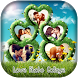 Love Photo Collage by Card and Dialer
