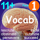 11+ English Vocabulary Pack1 for 2017 exam by NDsoft