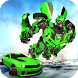 Future Flying Car Transform Robot Wars by White Sand - 3D Games Studio