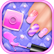 Fashion Nail Art Salon by Trendsetting Apps for Girls
