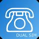 MY電話番号 for Dual SIM