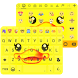 Cute Duck Emoji Keyboard Theme