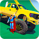 Superheroes Monster Stunt Race by Let's Game