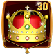 Gold King Crown 3D Theme by Launcher Design