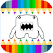 Kids Coloring Pages Monsters by TeachersParadise: Learning games for kids & adults