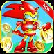 Strange Sonic - Iron Hedgehog by Full Screen Dev