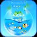 Blue Water Theme Mini Aquarium by Themondo Beauty