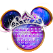 Galaxy Minnie Bowknot Typewriter Theme by Android Themes by PIXI