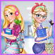 College Girls Fashion Makeup Dress Up For Girls by App Beat