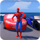 Superheroes Car Stunt Racing Games by Let's Game