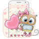 Cute Cartoon Owl Theme by Launcher Fantasy