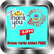 Thank You, Birthday, Love Card by Top Wallpaper & News